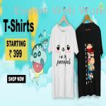 Buy Printed T-Shirts & Graphic T-Shirts Online