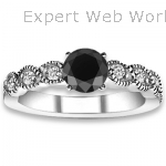 Accent H-I Color, Diamonds Engagement Rings